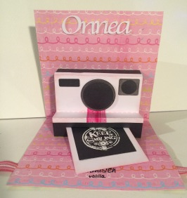 Polaroid-kamera pop up